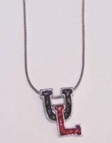 University of Louisville Rhinestone Necklace
