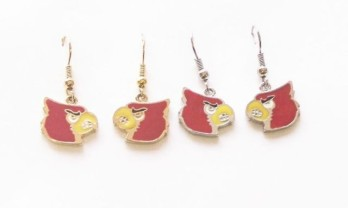 University of Louisville Dangle Earrings