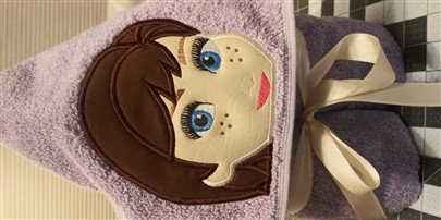 Anna Hooded Towel