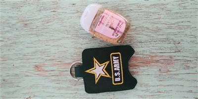 Army Hand Sanitizer Holder