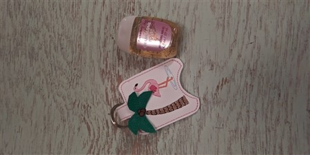 Flamingo Hand Sanitizer Holder, Palm Tree Hand Sanitizer Holder