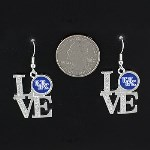 Love- University of Kentucky Earrings