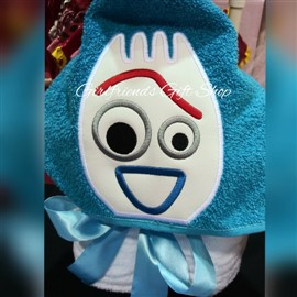 Forky Hooded Towel, Toy Story