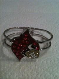 University of Louisville Cardinal Bracelet