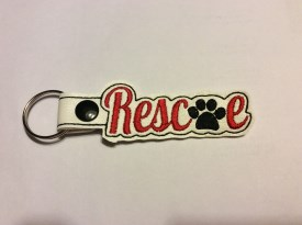 Rescue Key Chain