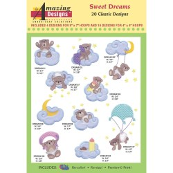 Sweet Dreams Embroidery Designs