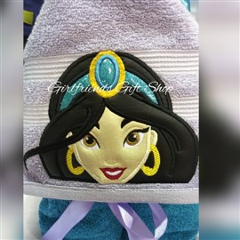 Jasmine Hooded Towel
