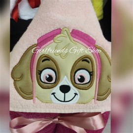 Skye Paw Patrol Hooded Towel