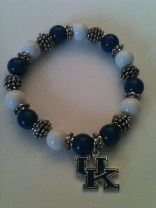 University of Kentucky Stretch Bracelet