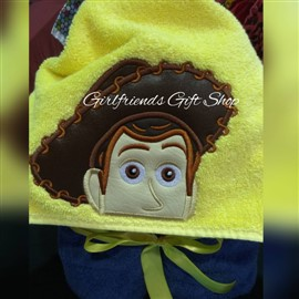 Woody Hooded Towel