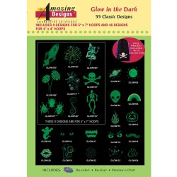 Glow in the Dark Embroidery Designs