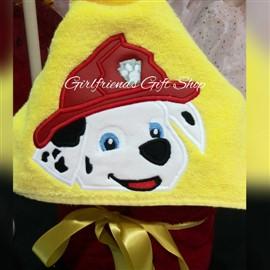 Marshall Paw Patrol Hooded Towel