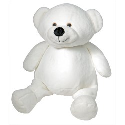 Embroidery Buddies-Bear (White)