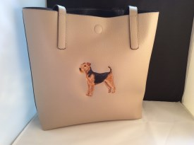 Airedale Tote Handbag
