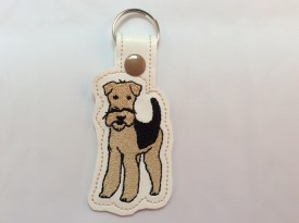 Airedale Key Chain (Style #1)
