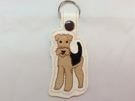 Airedale Key Chain (Style #3)
